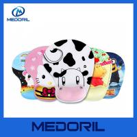 Wholesale Custom full color printing soft silicone gel wrist rest mouse pad for promotion from china suppliers