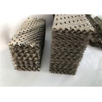 Buy cheap SS Mass Transfer Metal Structured Column Packing 125Y Use In Petrochemical from wholesalers