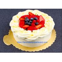 Buy cheap Aluminium Foil Laminated Cake Board For Food Packaging/Gift Cases from wholesalers
