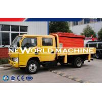 Wholesale 16m Motorized Hydraulic Lift Table / Car Vehicle Mounted Scissor Lift Platform from china suppliers