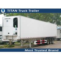 Buy cheap Thermo King 20ft 40ft 53ft mobile refrigerated trailer truck / cooler trailer from wholesalers