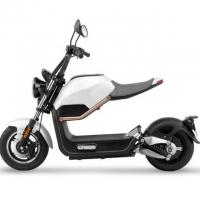 Buy cheap White Color Harley Electric Scooter Range 60 - 80km Brushless Motor Power from wholesalers