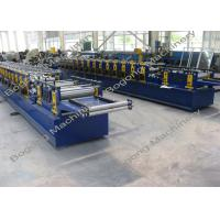 Buy cheap Galvanized Steel Purlin Roll Forming Machine Size 9300 * 1400 * 1800mm from wholesalers