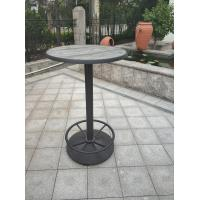 Buy cheap Classical design round Table leg with Footring Bistro Table Base Outdoor Furniture from wholesalers