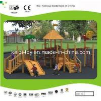 Quality Wooden Series Outdoor Playground Equipment (KQ10155A) for sale