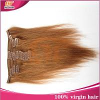 Buy cheap Best selling high quality 100% unprocessed cheap hair extensions clip in full head wholesale from wholesalers