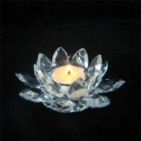 Buy cheap Supple crystal candleholder from wholesalers