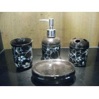 Buy cheap Top - grade porcelain / Ceramic Bath Accessories sanitary set practicality from wholesalers