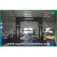 Buy cheap Black Truss Inflatable Arch PVC Tube Archway With CE / UL Blower from wholesalers