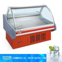 Buy cheap 2m restaurant horizontal display cooked food fridge meat display chiller from wholesalers