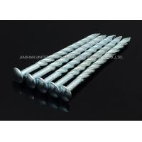 "Buy cheap Sharp Point Galvanized Twist Shank Nails , 5""X BWG6 Round Head Screw Shank Nails product"