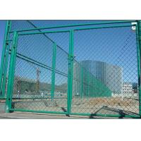Buy cheap Outdoor 6 Foot Chain Link Fence Panels For Sports Yard / Industrial Sites from wholesalers