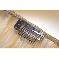 Buy cheap Beauty Brown #6 Clip In Hair Extension Weave For Sexy Lady SGS from wholesalers