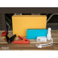 Buy cheap Colorful Emergency car battery jump starter 5400mAH , 12v portable car jump starter from wholesalers