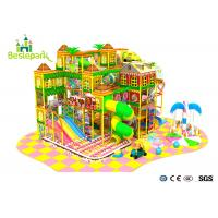 Wholesale PVC Soft Cover Indoor Infant Playground , Large Indoor Playground For Communities from china suppliers