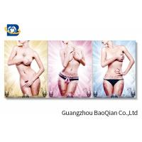 Wholesale 30 X 40cm Sexy And Lovely Girl 3 Dimensional Lenticular Flip / Custom Lenticular Printing from china suppliers