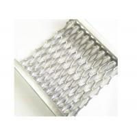 Buy cheap Aluminum Safety Grip Strut Grating Walkways , Crocodile Mouth Anti Slip Metal Plate from wholesalers