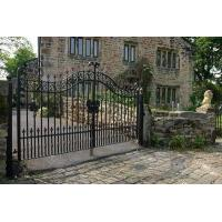 Buy cheap ornemental wrought iron gate from wholesalers
