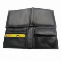 Wholesale Men's Wallet, Made of PU Leather, Measures 10 x 9 x 2.5cm from china suppliers