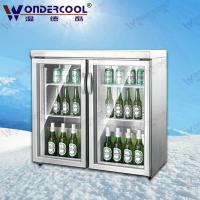 Buy cheap 200L Ice cream cake display freezer beer bar display fridge counter mini cooling display from wholesalers