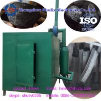 Buy cheap Large capacity wood carbonization stove charcoal machine gas recycle 6000kg/24h Macadamia Nut shell charcoal machine from wholesalers