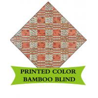 Buy cheap Round Woven Bamboo Roman Blinds Corrosion Resistant For Sukkot Tent Festival from wholesalers