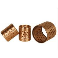 Buy cheap Self Lubricating Thin Wall CuSn8P Bronze Perforated Bushings from wholesalers