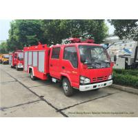 Buy cheap ISUZU NKR 600P Water Tank Fire Fighting Truck With Fire Pump 3000Liters from wholesalers
