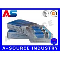 Buy cheap Anti - Fake Steroid Injection Laser 10ml Vial Storage Boxes Panton Blue And White Color from wholesalers