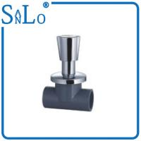 Buy cheap Black Schedule 80 CPVC Pipe Fittings , Small Thermal Conductivity Cpvc Stop Valve from wholesalers