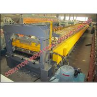 Buy cheap Horizontal Galvanised Steel Floor Deck Roll Forming Machine Width 1000mm from wholesalers