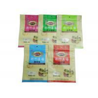 Buy cheap Custom Printed Snack Packaging Bags / Zipper Pouches For Packing Food Back seal bag from wholesalers