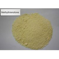 Buy cheap 965-93-5 Methyltrienolone Natural Women Anabolic Steroids Muscle Mass Metribolone yellow powder from wholesalers
