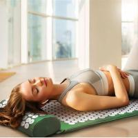 Buy cheap Lotus Acupressure Massage Mat Anti Stress Needle Massager With Pillow from wholesalers