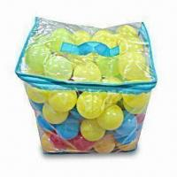 Buy cheap PE Ball Set, Made of PVC Bag, Non-phthalate PVC/PE Materials and 0.15mm PVC from wholesalers