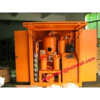 Buy cheap Large Power Industry  Above 110KVA High Vacuum Oil Treatment Plant ,Transformer Oil Dehydrating with enclosure house from wholesalers
