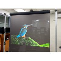 Buy cheap 1.52*30m Clear Reflective Transparent Holographic Rear Projection Screen Film For Home Theater from wholesalers