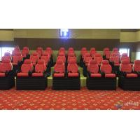 Quality Professional Scene 5D Movie Theater For Indoor Mini Cabin Cinema Red / Black Color for sale