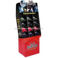 Buy cheap recyclable cardboard floor display stand for hat / cap from wholesalers