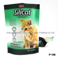 Buy cheap Custom Printed Cat Litter Bag With Zipper And Clear Window from wholesalers