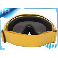 Buy cheap Yellow Over Glasses Adult Neon Liquid Image Snow Goggles PC Lens from wholesalers