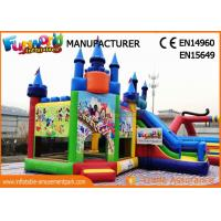 Wholesale Giant Commercial Bouncy Castles / Sewed And Stitched Inflatable Bouncer For Kids from china suppliers