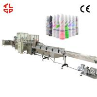 Buy cheap Auto Aerosol Can Filling Equipment For Body Spray , Deodorant Spray from wholesalers