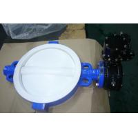 China OEM Ductile Iron Butterfly Valves For Crude Oil , Natural Gas Media on sale