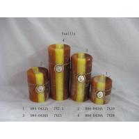 Buy cheap Vanilla Aromatherapy Pillar Candle Home Decoration Crafts from wholesalers