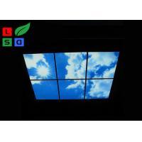 Buy cheap Custom Design LED Shop Display Blue Sky LED Flat Panel Light For Ceiling Decoration product