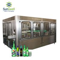 Buy cheap Automatic Beer Filling Machine , Filling And Capping Machine For Glass / Plastic Bottle from wholesalers