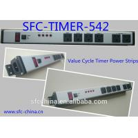 Buy cheap Value Cycle Timer Electrical Outlet , Metal Power Strip With Timer / On Off Switch from wholesalers
