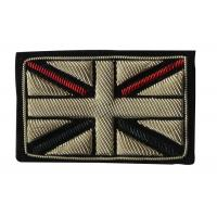 Buy cheap England Flag Embroidered School Badges 3D Sew On Embroidered Patches from wholesalers