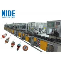 Buy cheap High Effieciency Rotor Winding Machine Rotor Manufacturing Assembly Line from wholesalers